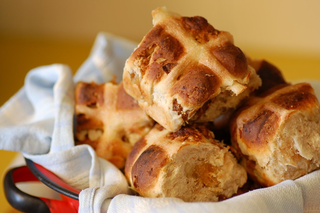 Hot cross buns are a traditional part of Easter celebrations across the UK. Photo: Jules, flickr.com/stone-soup/